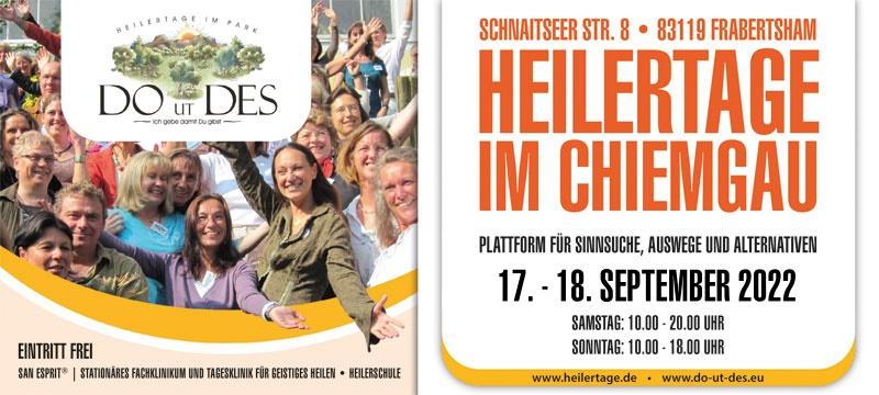 Heilertage im Chiemgau 2022
